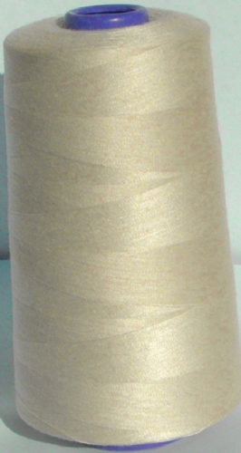 Sewing Machine & Overlocker Thread - 5,000m Cones BLB05 Warm White Shade 106